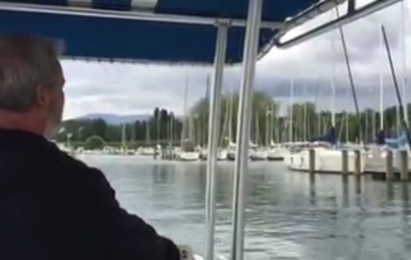 Accostage avant tribord